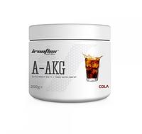 Аргинин IronFlex - A-AKG (200 грамм) cola/кола