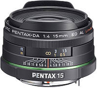 Pentax SMC DA 15mm f/4 AL Limited