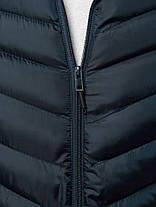 Мужская стеганая куртка J.Style синего цвета топ реплика, фото 3