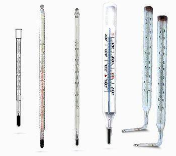Термометр лабораторний МЛС 6 (виконання 2), скло, фото 2