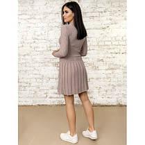 Платье вязаное шерстяное теплое очень милое 42-44, фото 3
