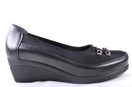 Женские туфли (арт.Лодочка ч к)