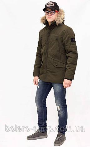 Куртка мужская теплая Stone Island , фото 2