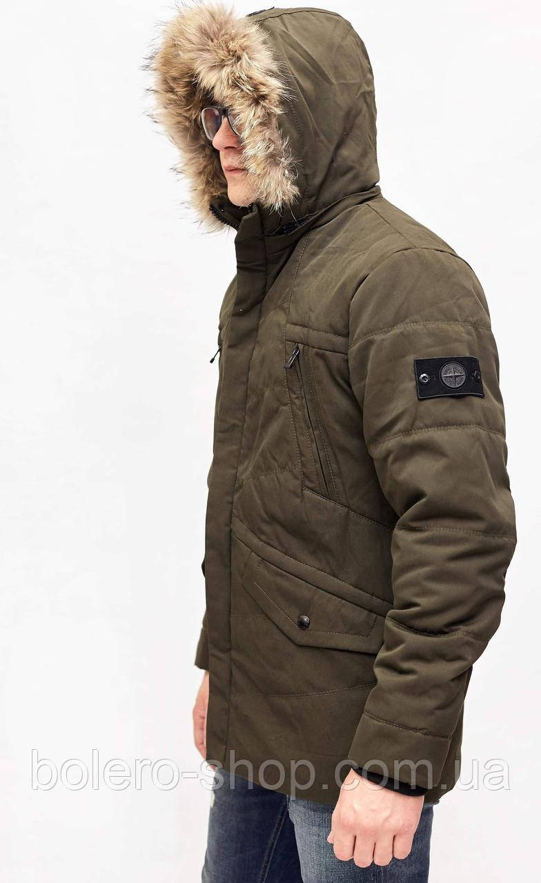 Куртка мужская теплая Stone Island