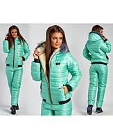 Зимний стильный женский спортивный костюм