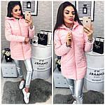 Женское пальто на силиконе, фото 2