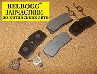 Колодки тормозные передние с ABS Geely CK, Джили СК