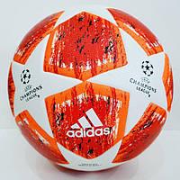 Мяч футбольный красный Лиги Чемпионов Champions League 2018-2019 , фото 1