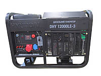 Генератор дизельный Hyundai DHY 12000LE-3 (Бесплатная доставка по Украине)