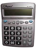 Настольный калькулятор Kenko KK-1048, расчет маржи, коррекция числа, проценты, клавиша 00, средних габаритов
