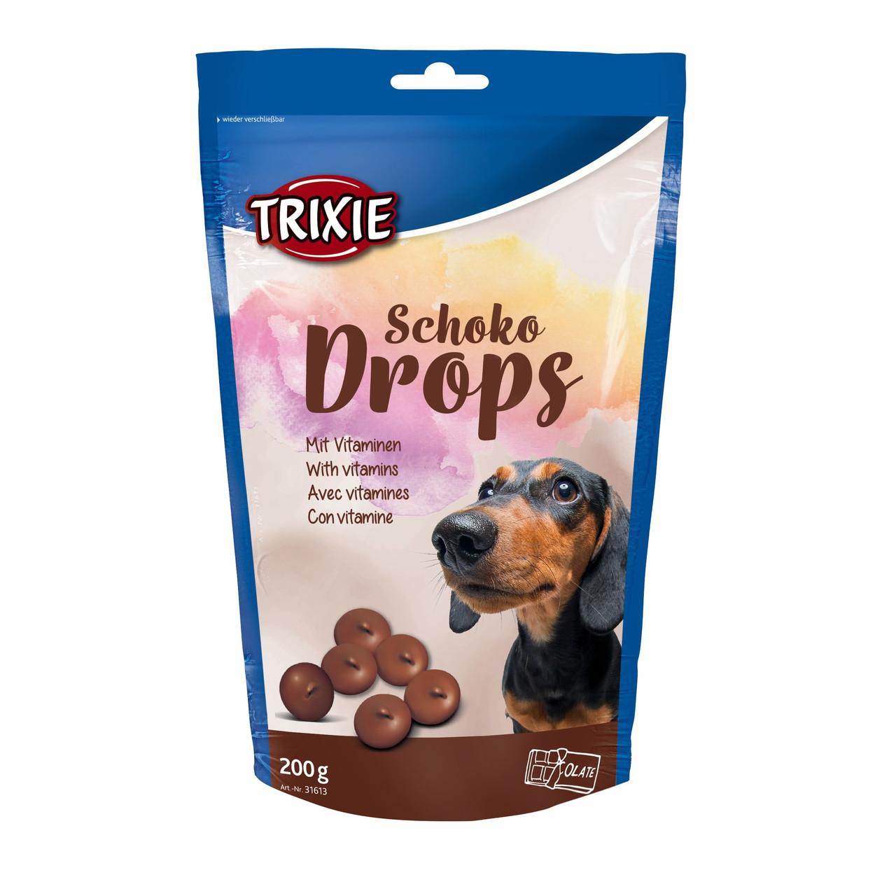 TRIXIE Schoko Drops 200 гр - лакомство для собак