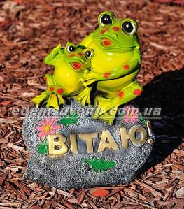 Садовые фигуры лягушек, жаб