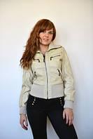 Куртка из эко-кожи 2806