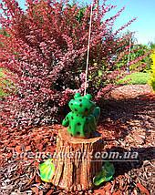 Садовая фигура Лягушка рыбак, фото 3