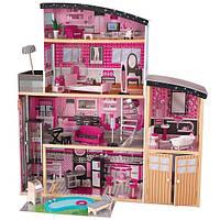 Кукольный дом с мебелью Блеск KidKraft Sparkle Mansion 65826