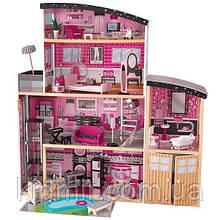 Дом для кукол Кидкрафт Особняк Блеск кукольный домик с мебелью KidKraft Sparkle Mansion 65826