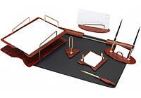 Набор настольный деревянный из 7 предметов ( O36413 )