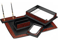 Набор настольный деревянный из 6 предметов ( O36415 )