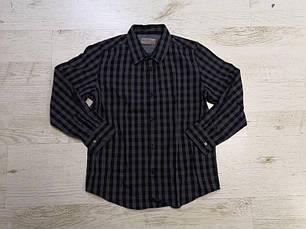 Рубашка в клетку для мальчика 9-11 лет, фото 3