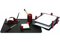Набор настольный деревянный из 7 предметов с 1 ручкой