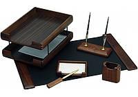 Набор настольный деревянный, 6 предметов ( O36437 )