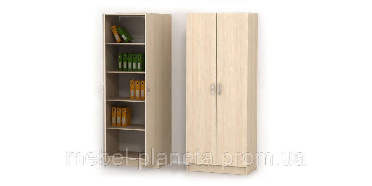Шкаф распашной в офис №2