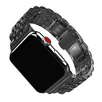 Металлический ремешок Baseus для Apple Watch 42 mm 7-Bead Metal Band - Black