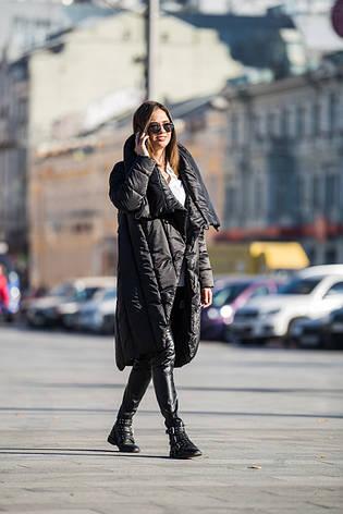 Женская куртка-одеяло KATTALEYA KTL-265 черная, фото 2