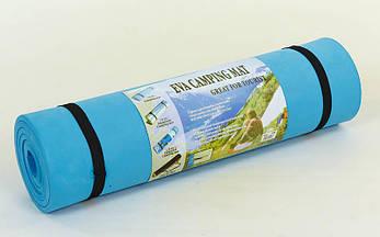 Коврик туристический (каремат) однослойный 10мм Record TY-1846, фото 2
