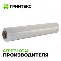 Стретч пленка прозрачная 17 мкм. , 500 мм. , 200 м. от одного ящика (6 шт. )