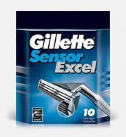 Сменные кассеты Gillette Sensor Excel 10шт