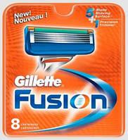 Сменные кассеты Gillette Fusion 8шт