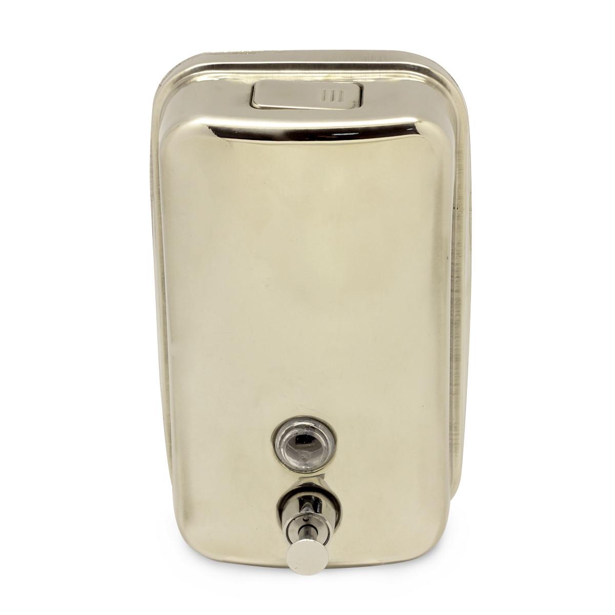 Дозатор для рідкого мила металевий 1000мл KM-8304