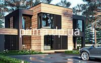 Эскизный проект частного дома. ЭП