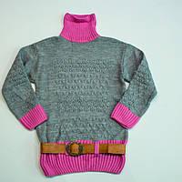 Вязаный свитер для девочки, фото 1