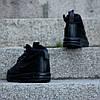 """Мужские кроссовки Nike Lunar Force 1 Duckboot '17 """"Triple Black"""" (Найк) черные , фото 5"""