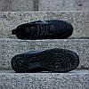 """Мужские кроссовки Nike Lunar Force 1 Duckboot '17 """"Triple Black"""" (Найк) черные , фото 4"""