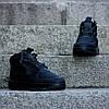"""Мужские кроссовки Nike Lunar Force 1 Duckboot '17 """"Triple Black"""" (Найк) черные , фото 3"""