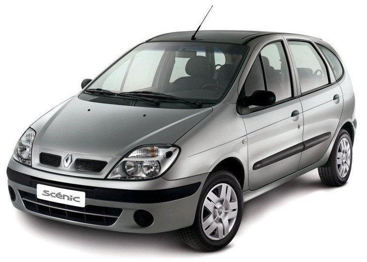 Лобовое стекло на Renault Scenic (2003-2009)