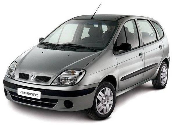 Лобовое стекло на Renault Scenic (2003-2009), фото 2