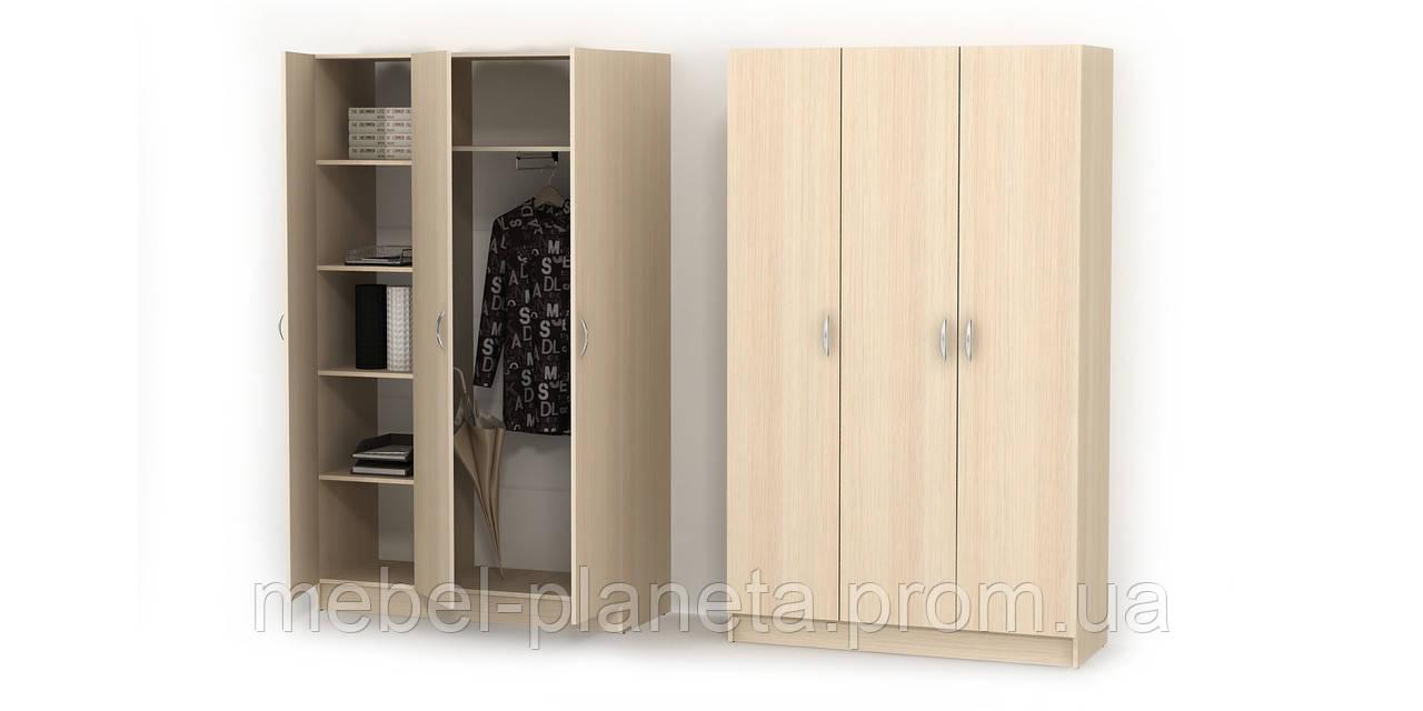 Шкаф распашной №5 для одежды с полками