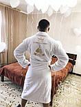 Халат с именной вышивкой: комфортный, мягкий и приятный к телу, фото 6