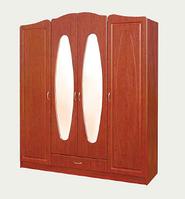 Шкаф 4х-дверный Миллениум