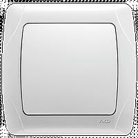 Выключатель белый (аналог Viko)