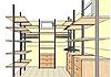 Изготовление гардеробной комнаты