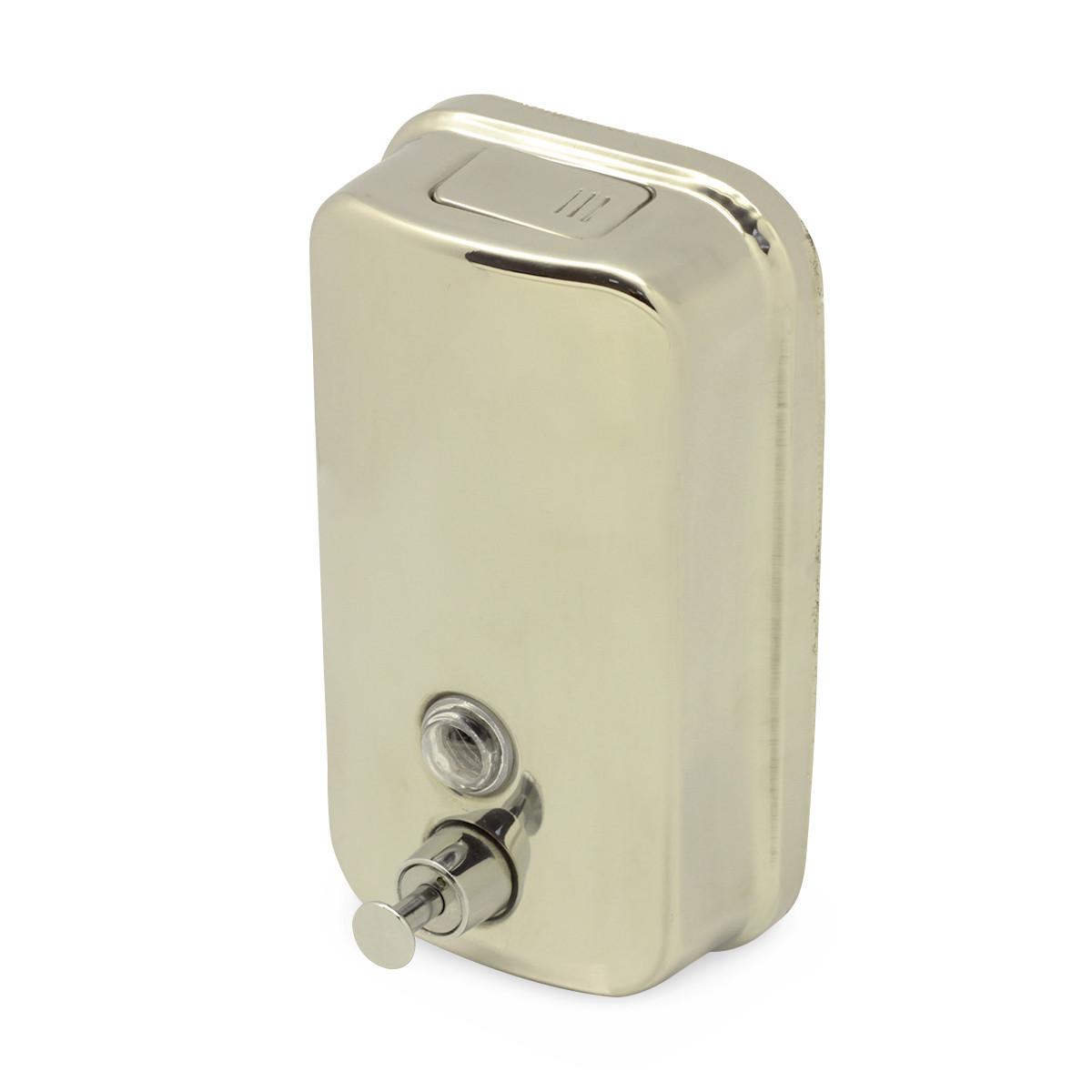 Дозатор для рідкого мила металевий 800мл KM-8305