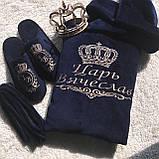 Халат с именной вышивкой: комфортный, мягкий и приятный к телу, фото 9