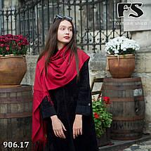 Шерстяной стильный шарф из пашмины, фото 3