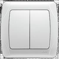 Выключатель двойной (аналог Viko)