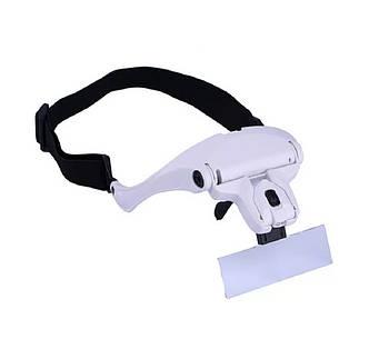 Увеличительные очки с LED подсветкой (Белые), фото 2